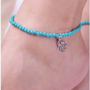 💍 Hand Beaded Anklet